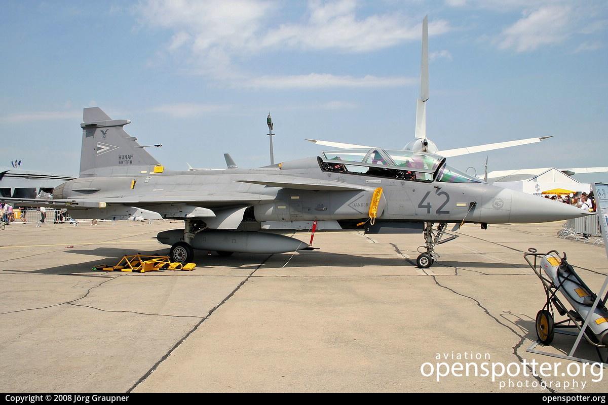 42 - Hungarian Air Force (HUF) Saab JAS-39D Gripen at Berlin