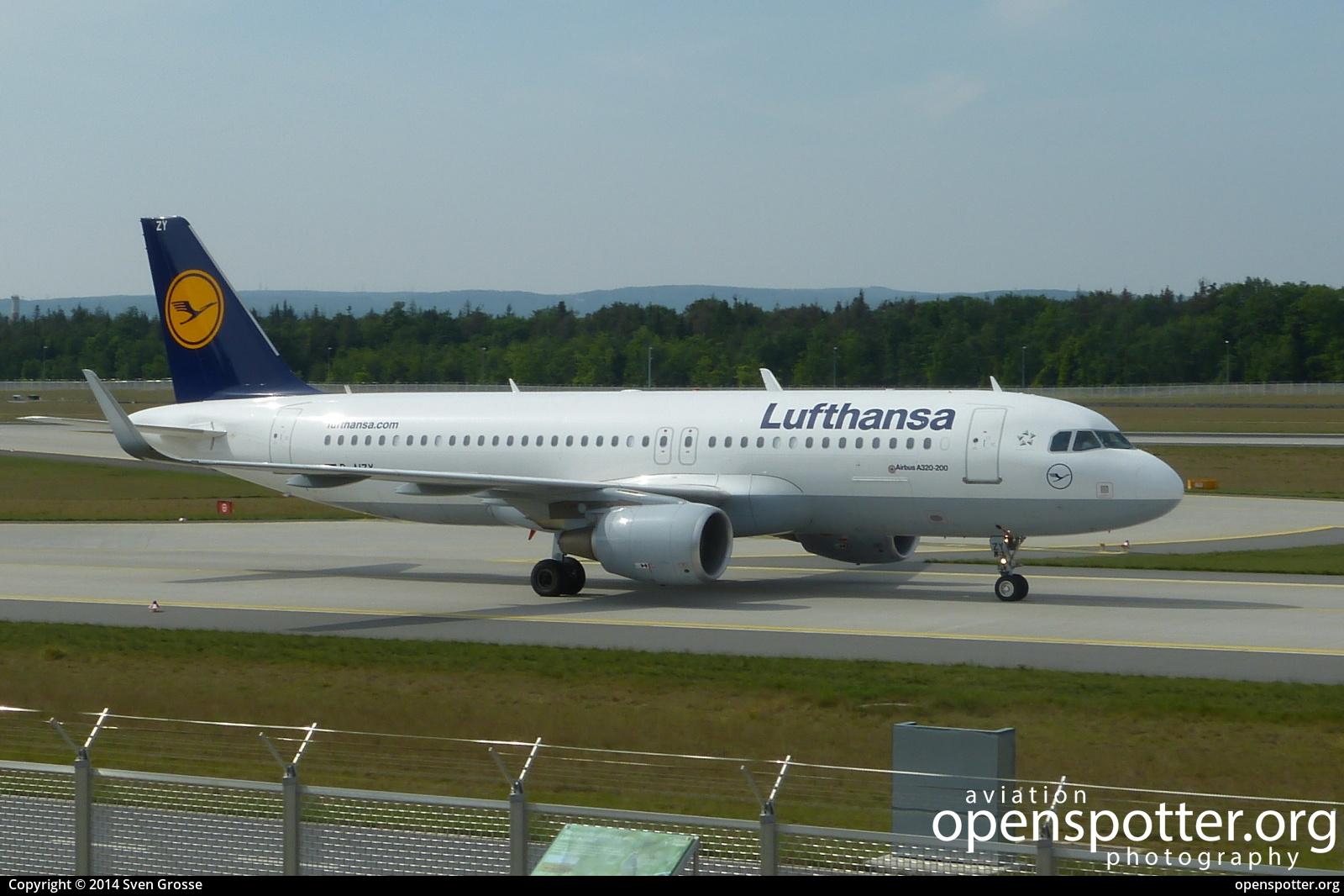 D-AIZY - Lufthansa Airbus A320-214(WL) at Frankfurt International Airport (FRA/EDDF) taken by Sven Grosse   openspotter.org   ID: 51513